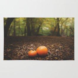 Family Pumpkin Rug