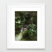 woodland Framed Art Prints featuring Woodland by Geni