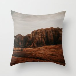 Utah Desert Throw Pillow