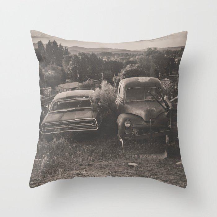 Baker Ranch Throw Pillow