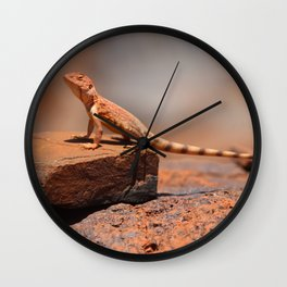 Karijini Lizard Wall Clock
