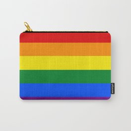 Pride Rainbow Stripes Carry-All Pouch