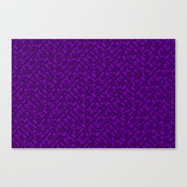 Control Your Game - Tradewinds Purple Canvas Print