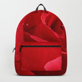 In the Heart of a Red Rose Backpack