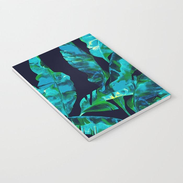 Tropical addiction - midnight grunge Notebook
