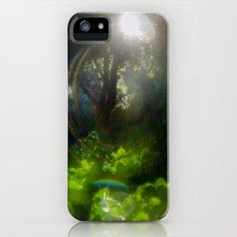 Rainbow Flare (Magic Garden Series) iPhone Case