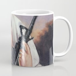 Assault Rifle Jesus Christ Messiah - Who WOuld Jesus Shoot Coffee Mug