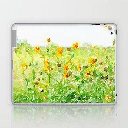 Texas Sunflowers Laptop & iPad Skin