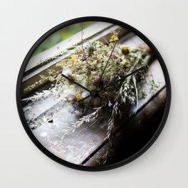 Malou's Bouquet Wall Clock