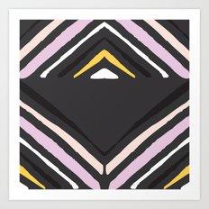 Sierra-Grey Art Print