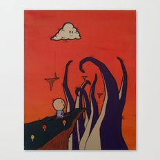 Tentacle Attack Canvas Print