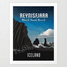 Iceland: Reynisfjara Art Print