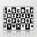 Alphabet Black and White by projectm