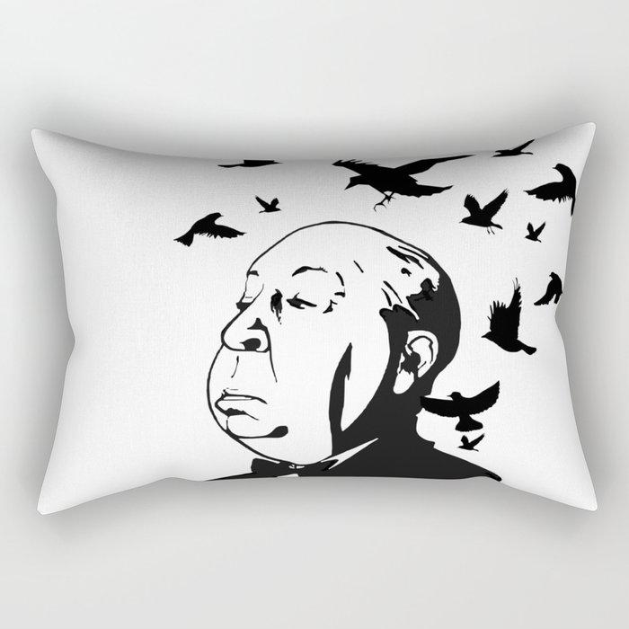 Alfred Hitchcock's Birds Rectangular Pillow