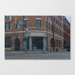 The Forest City Savings and Trust Co Canvas Print