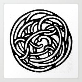Knot 4 Art Print