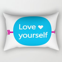 LOVE YOURSELF Rectangular Pillow