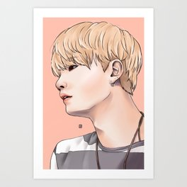 MIN YOONGI Art Print