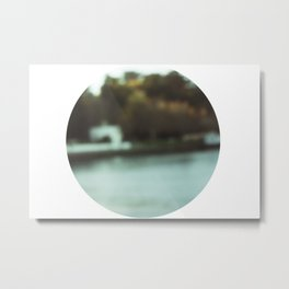 Blurred Life Metal Print