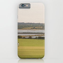 A Very English Scene. iPhone Case