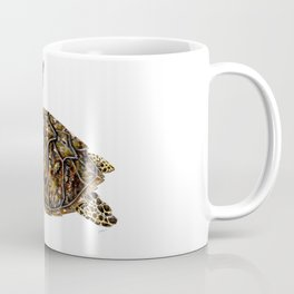 Hawksbill sea turtle (Eretmochelys imbricata) Coffee Mug