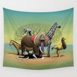 Skin-Swap Safari Wall Tapestry