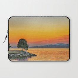 River Sunset Laptop Sleeve