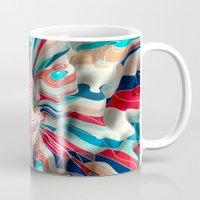 weird Mugs featuring Weird Surface by Danny Ivan