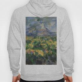 """Paul Cezanne """"Montagne Sainte-Victoire.Vue des Lauves"""" Hoody"""