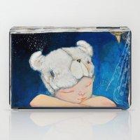 dreamer iPad Cases featuring Dreamer by Zina Nedelcheva