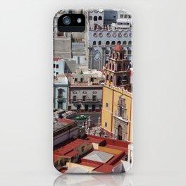 Guanajuato city views iPhone Case