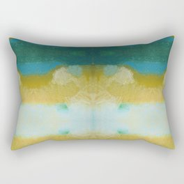 abstract pastel design Rectangular Pillow