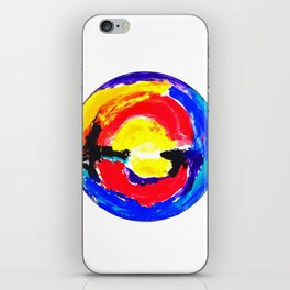 Colourful Dot iPhone Skin