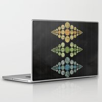 moon phase Laptop & iPad Skins featuring Phase 3 by Last Call