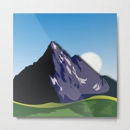 Night Mountains No. 59 Metal Print