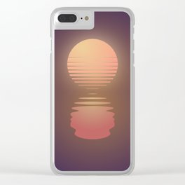 The Suns of Time Clear iPhone Case