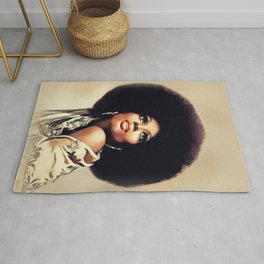 Diana Ross, Music Legend Rug