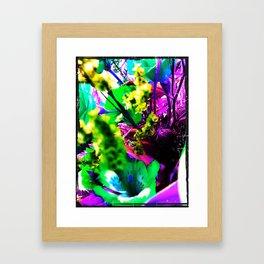 Pop Fairy Flower World Framed Art Print