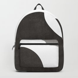 Mocha Latte |  Abstract in Browns Backpack