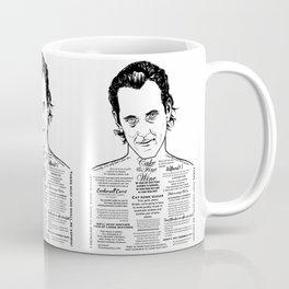 Withnail & I 'Cake & Fine Wine' Coffee Mug