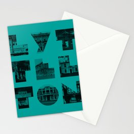 Missing buildings of Lyttelton Stationery Cards