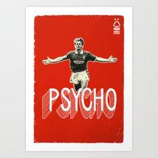 Nottingham Forest Legends Series: Stuart Pearce Graphic Poster Art Print
