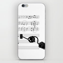Vacuum sound iPhone Skin