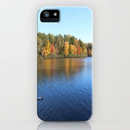 Heavenly Golden Reflection iPhone Case