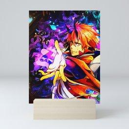 Colorful Flare Lord Mini Art Print