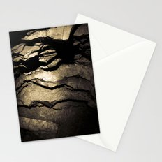 Brown Upstate New York Cave Art Stationery Cards