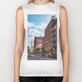 Downtown New York II Biker Tank