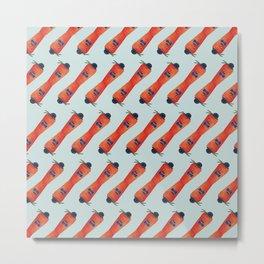 Mr. Carrot Metal Print