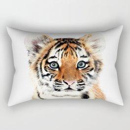 Tiger Cub Rectangular Pillow