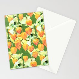 Chinese lantern plant Stationery Cards